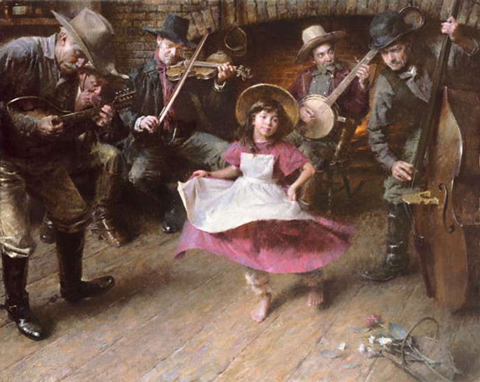 The Dance, Morgan Weistling MASTERWORK CANVAS EDITION