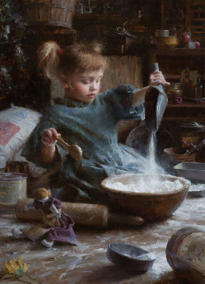 Flour Child, Morgan Weistling LIMITED EDITION CANVAS