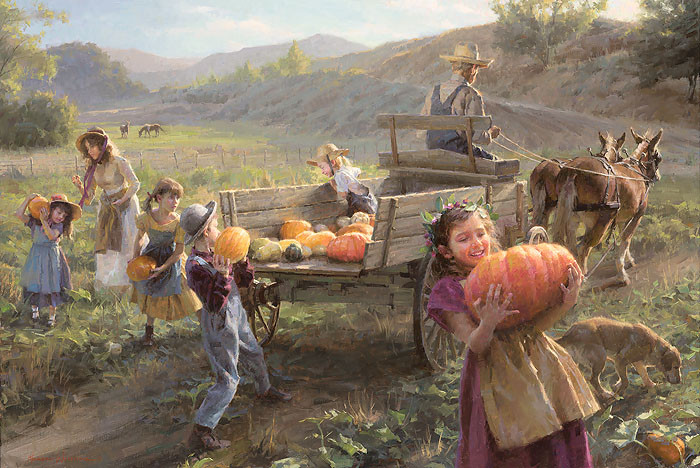 End of Harvest, Morgan Weistling LIMITED EDITION CANVAS