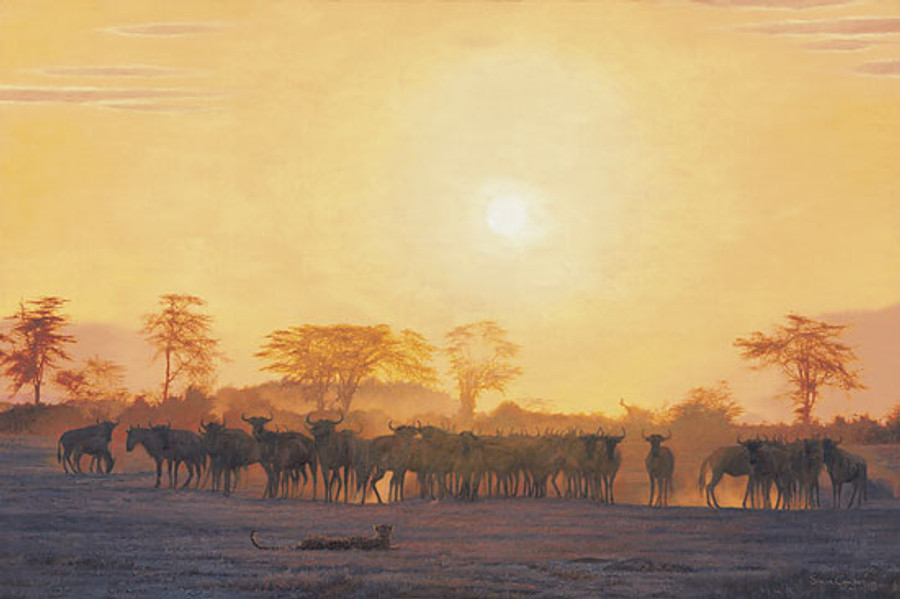 KEEPING DISTANCE, by Simon Combes LIMITED EDITION CANVAS