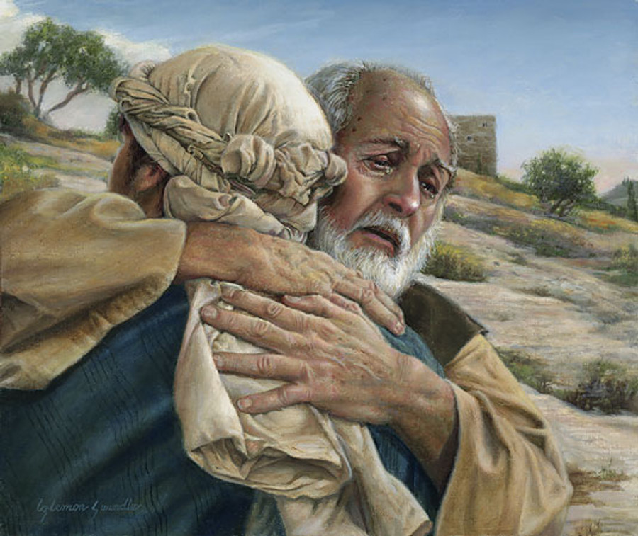 The Prodigal Son, by Liz Lemmon Swindle LIMITED EDITION CANVAS