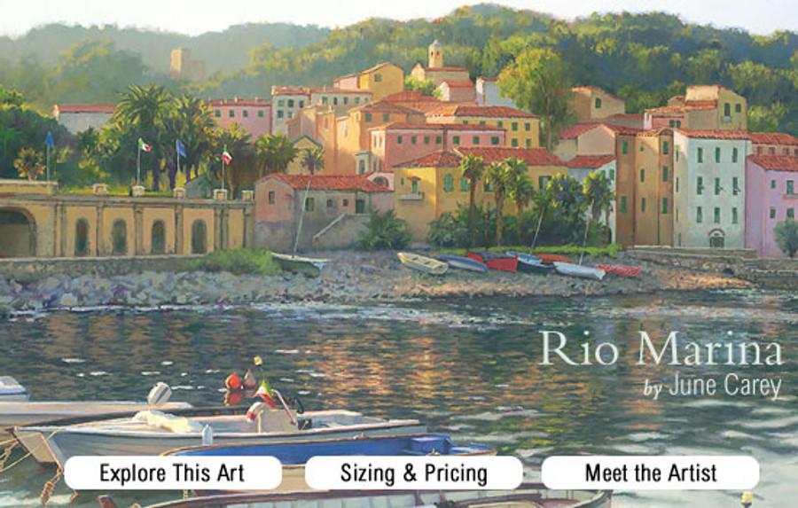 Rio Marina June Carey painting promo