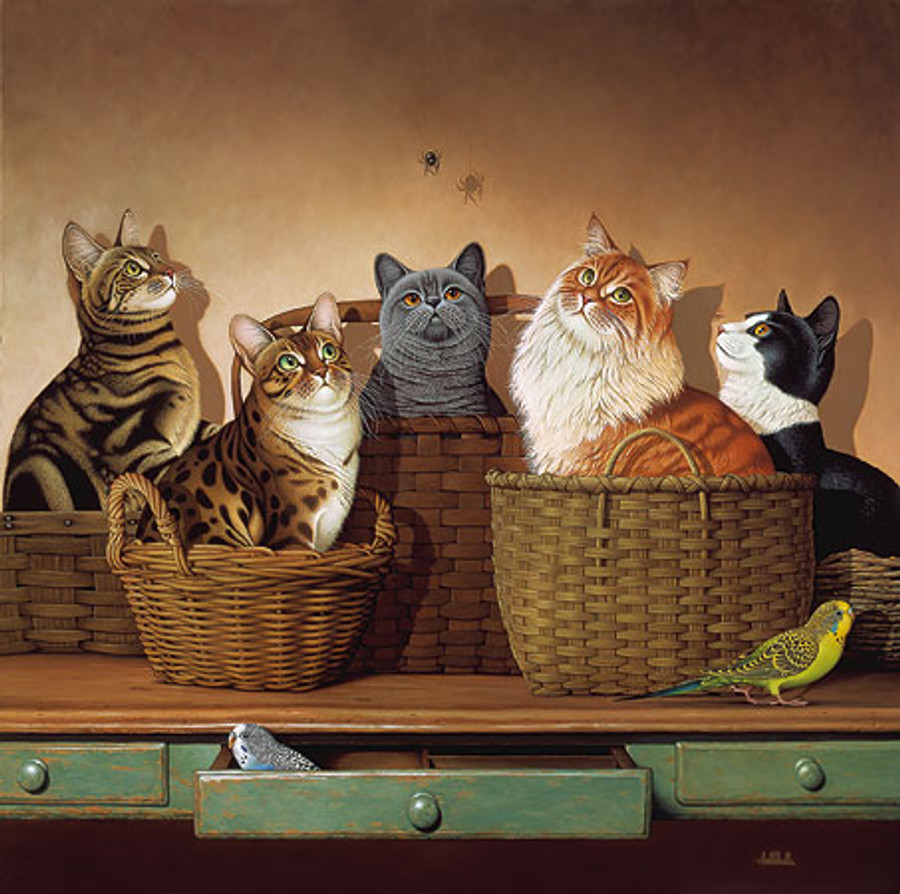 BASKET CASES by Braldt Bralds Limited Edition Print
