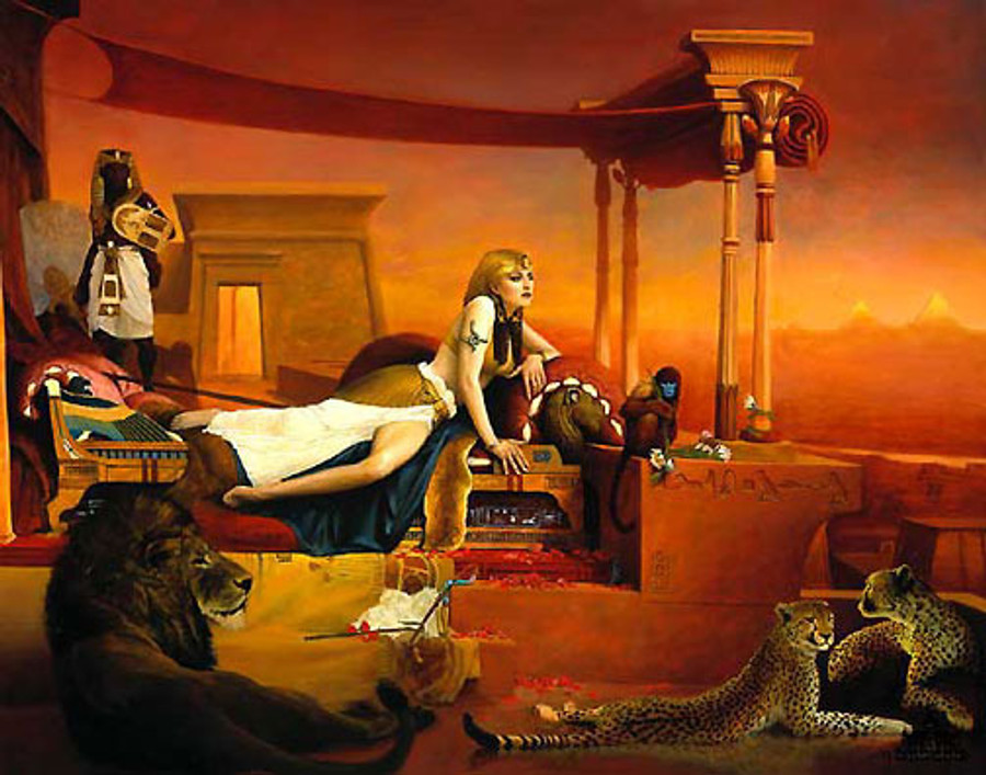 Cleopatra, by Jeff Barson print limited edition