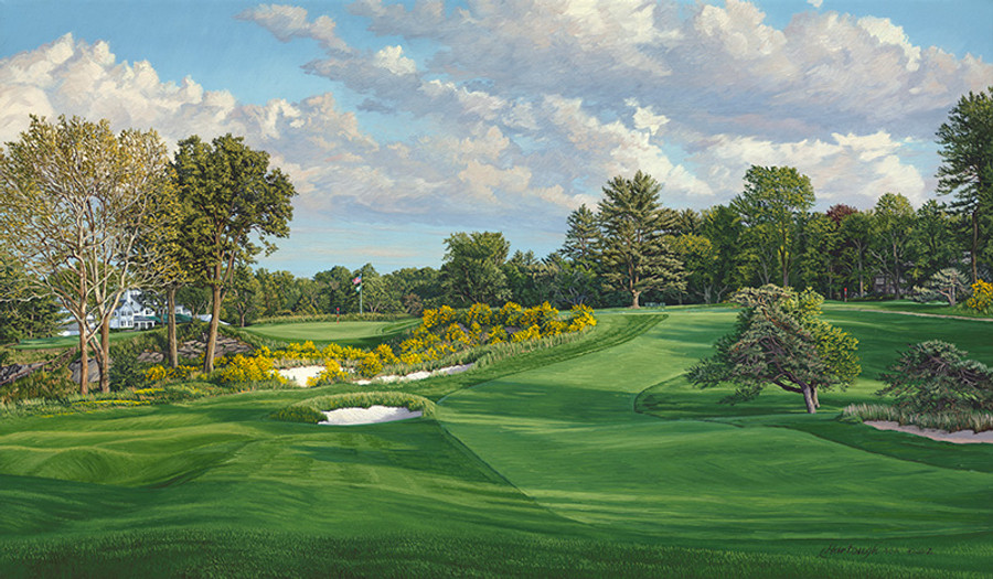 Merion Golf Club 16th Hole, East Course