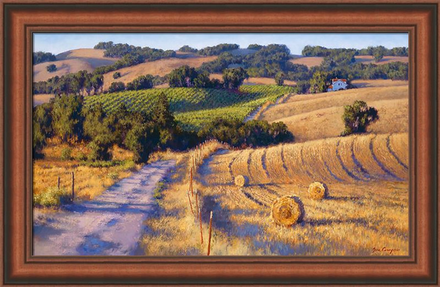 Old Napa Road framed