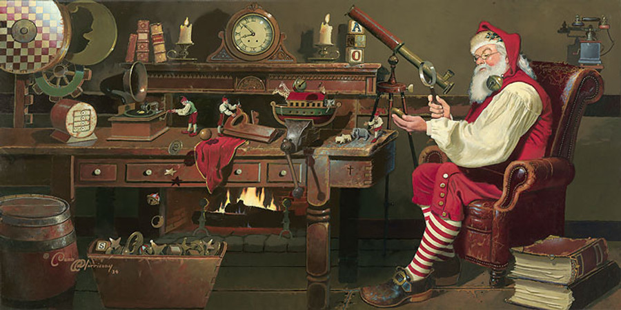 St. Nicholas: Work Day´s End by Dean Morrissey