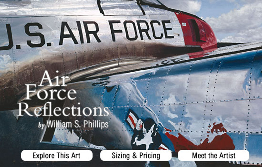 Air Force Reflections banner