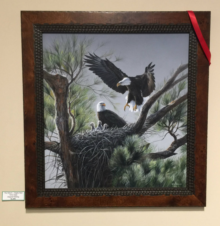 Eagles Nest by Terry Isaac