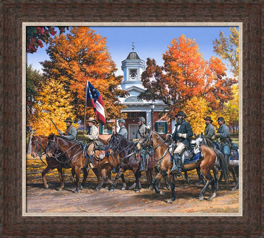 Deluxe Rustic Framed