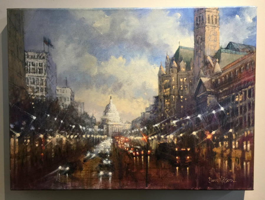 Capitol Evening by Dan Nelson