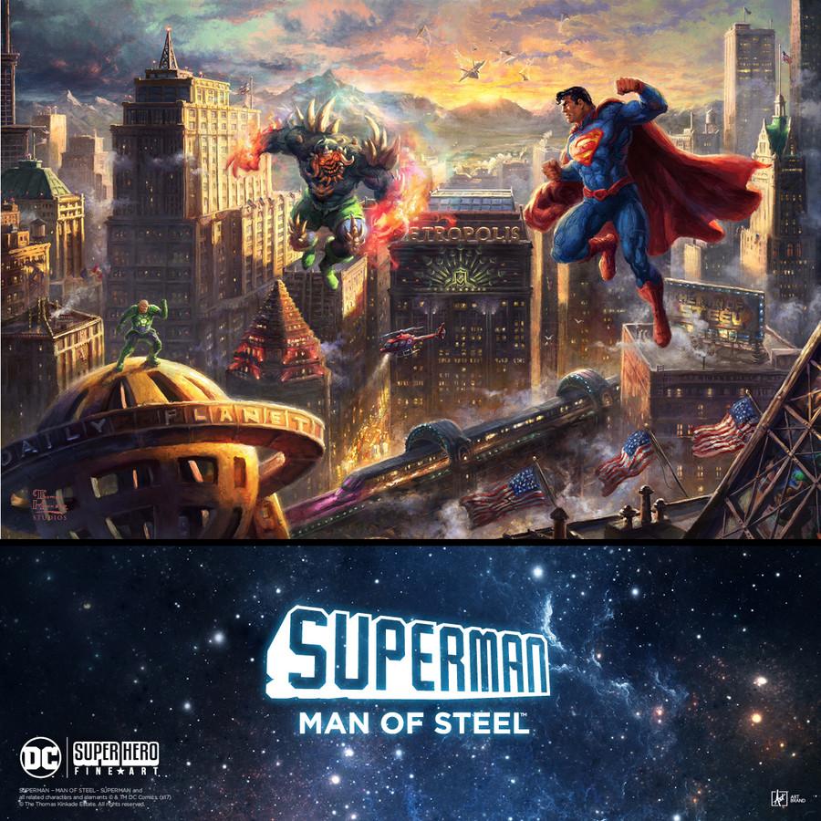 Superman - Man of Steel | Thomas Kinkade Studios