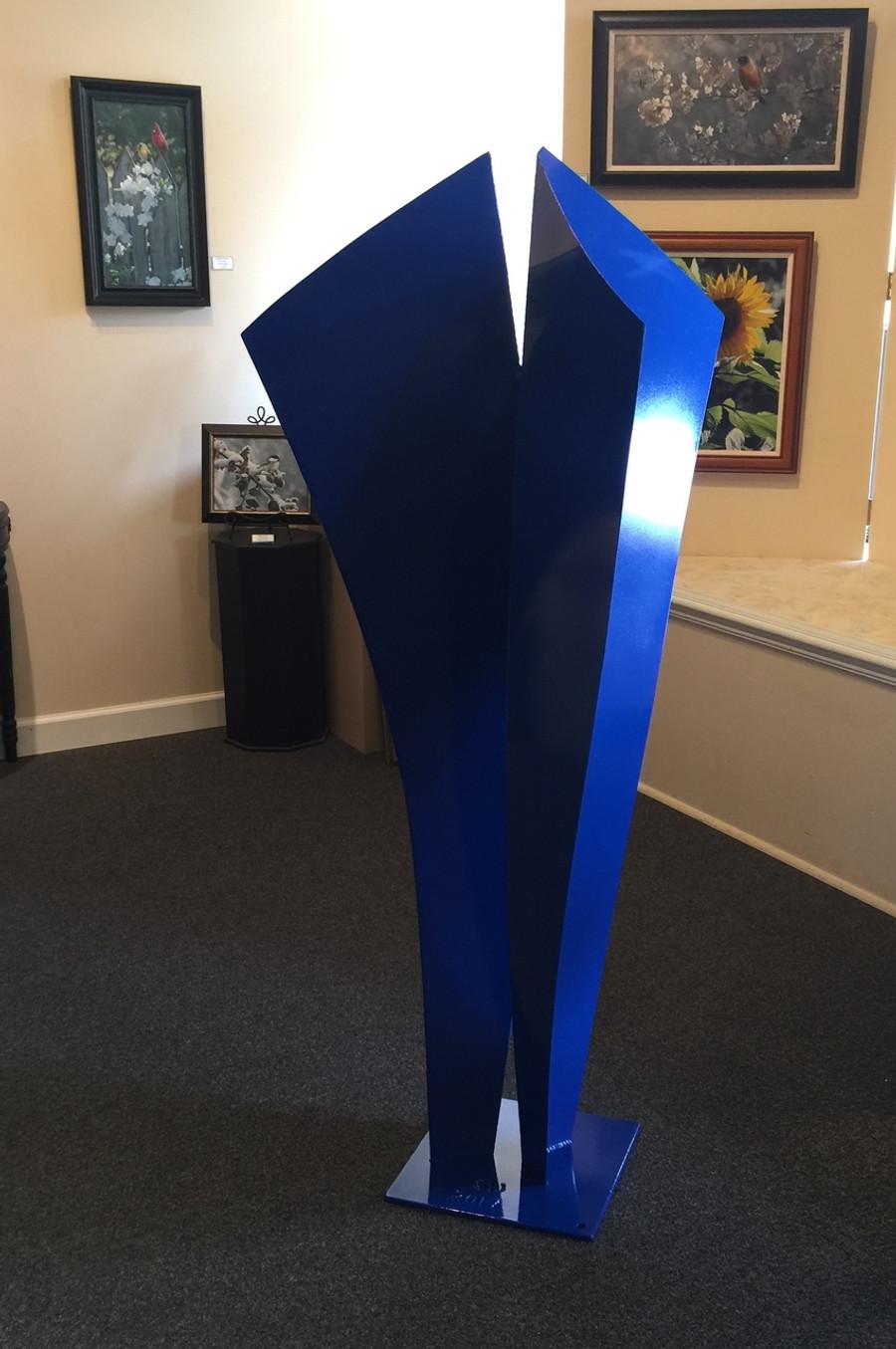 Together Blues - Metal Sculpture