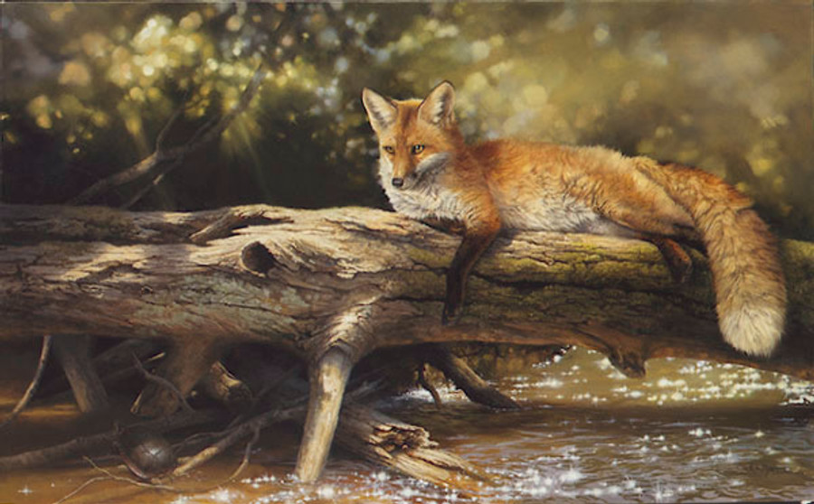 Lazy Days on the Big Crooked, Bonnie Marris LIMITED EDITION CANVAS