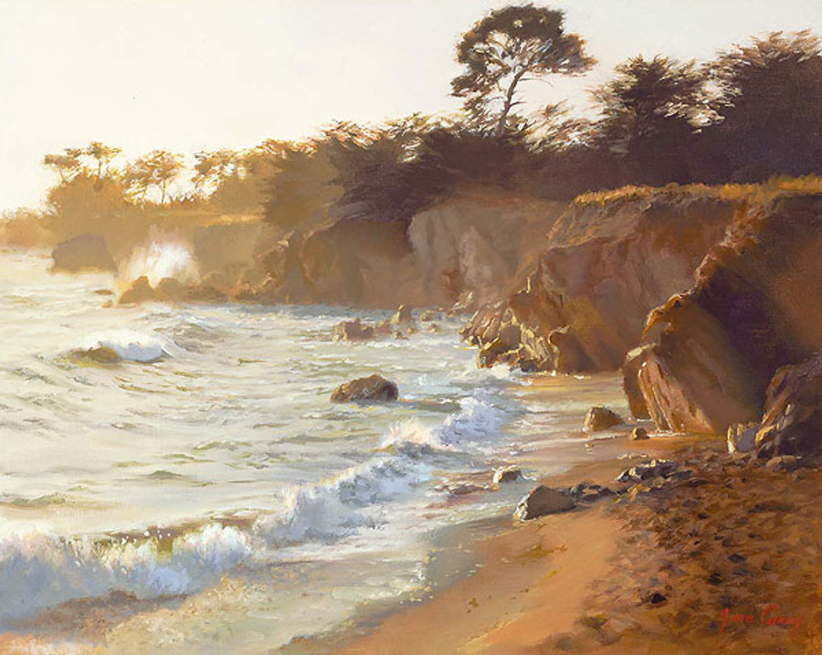 Sundown at Sea Ranch, June Carey  LIMITED EDITION CANVAS
