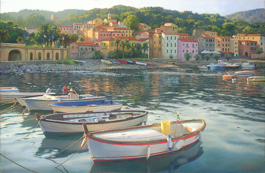 Rio Marina, June Carey  LIMITED EDITION CANVAS