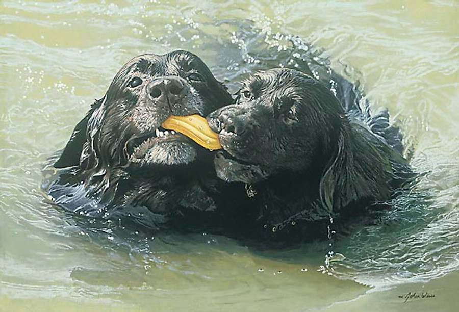 RETRIEVERS, John Weiss LIMITED EDITION PRINT