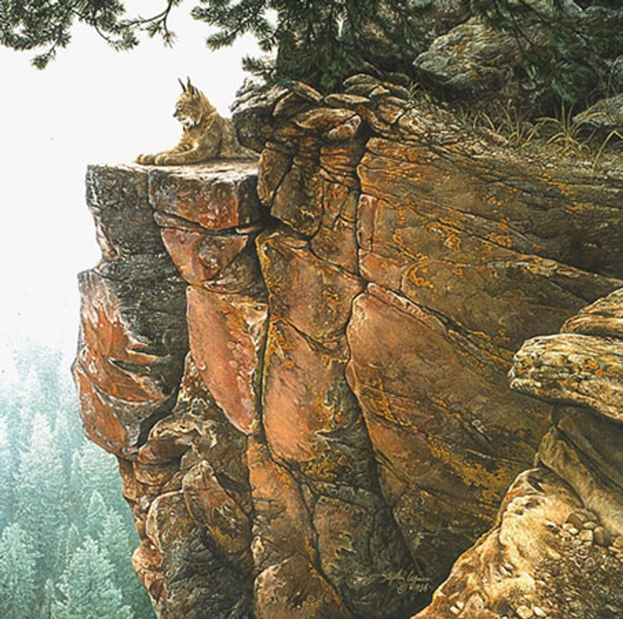ABOVE THE FOREST, Stephen Lyman LIMITED EDITION CANVAS