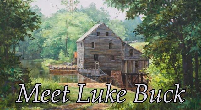 Luke Buck is a great painter of