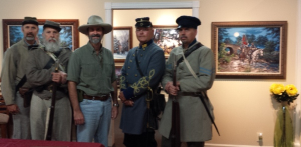 Nc 26th Reenactors with John Paul Strain