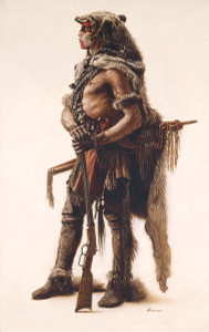 Northern Cheyenne Wolf Scout by James Bama