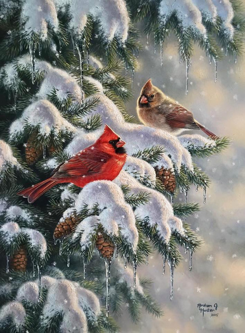 Holiday Greetings By Abraham Hunter Ashley S Art Gallery