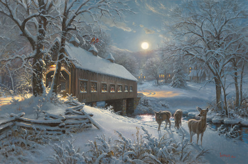Moonlit Passage by Mark Keathley - Ashley's Art Gallery