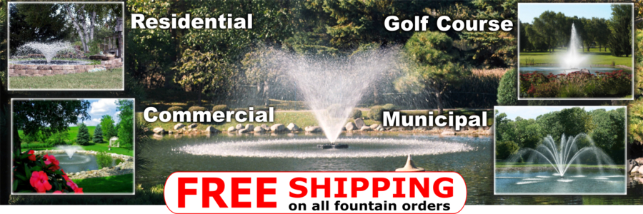 Kasco Fountains For Sale Free Shipping Banner