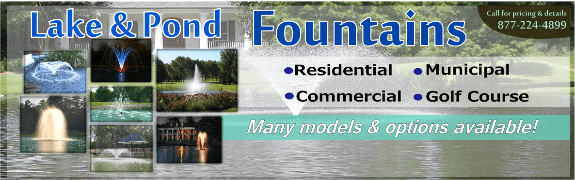 Buy Lake Pond Fountains Kasco