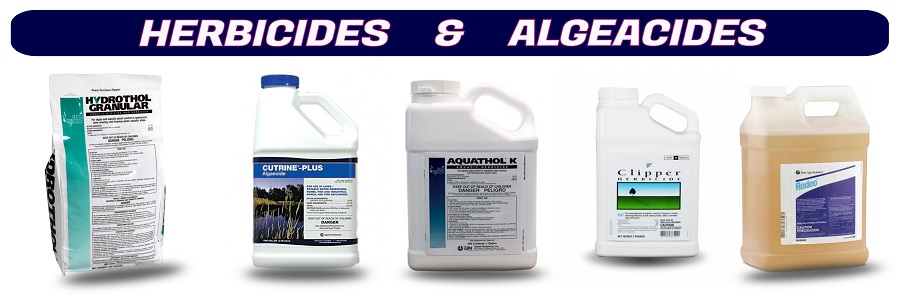Herbicides & Algaecides for killing algae and aquatic weeds