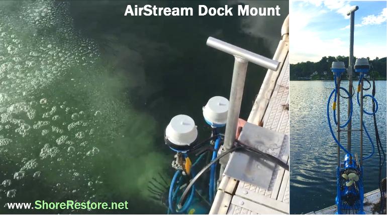 AirStream Water Circulator Aerator High Powered Commercial Marina Bay Canal