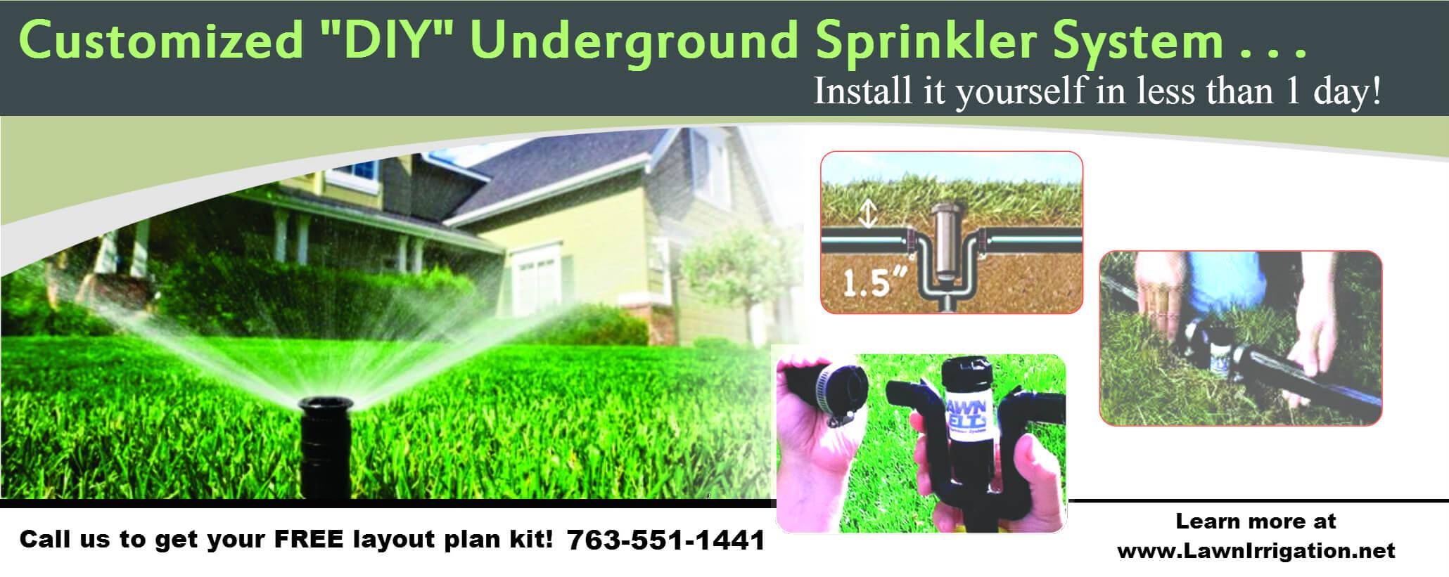 Do it Yourself Underground Sprinkler System