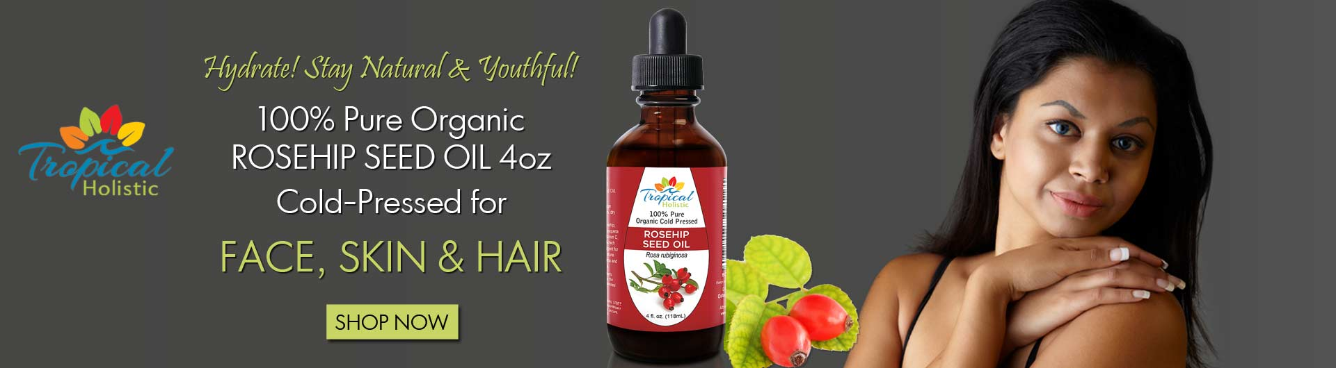 Rosehip Seed Oil from Tropical Holistic