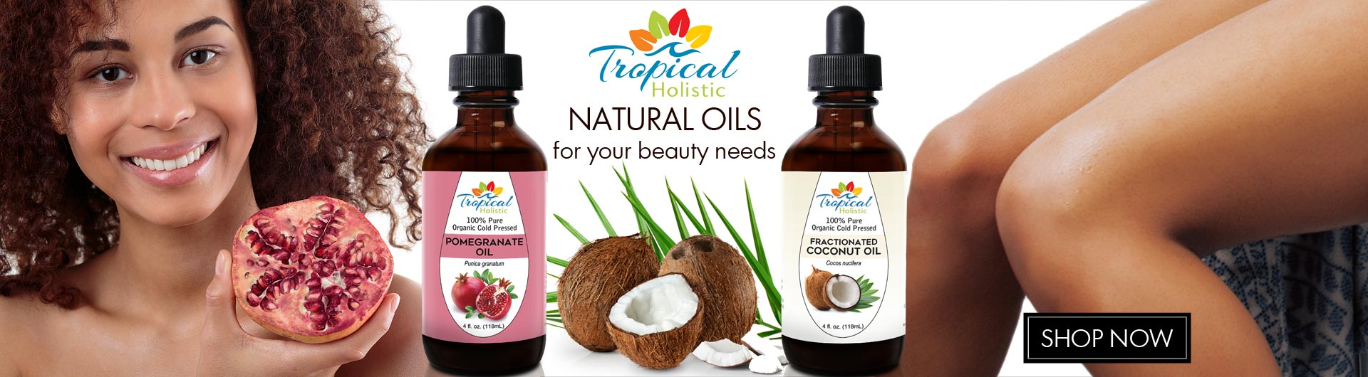 Natural Oils from Tropical Holistic