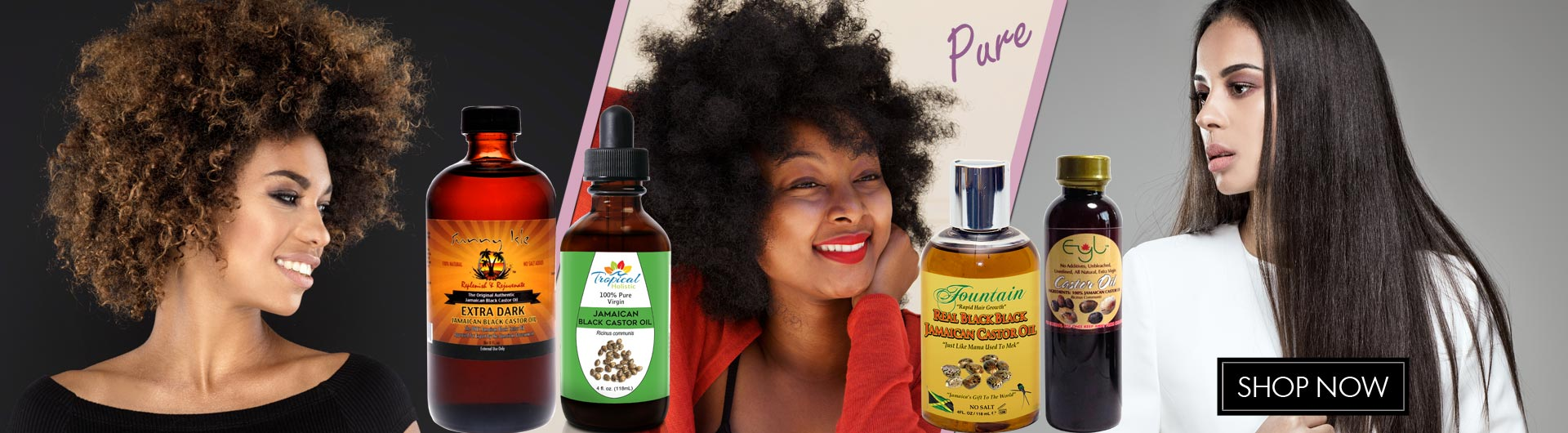 Pure Jamaican Castor Oil