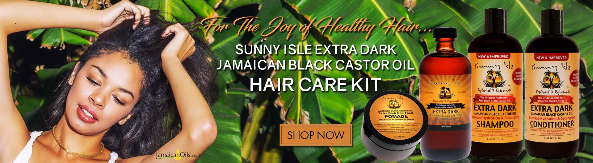 For the Joy of Healthy Hair