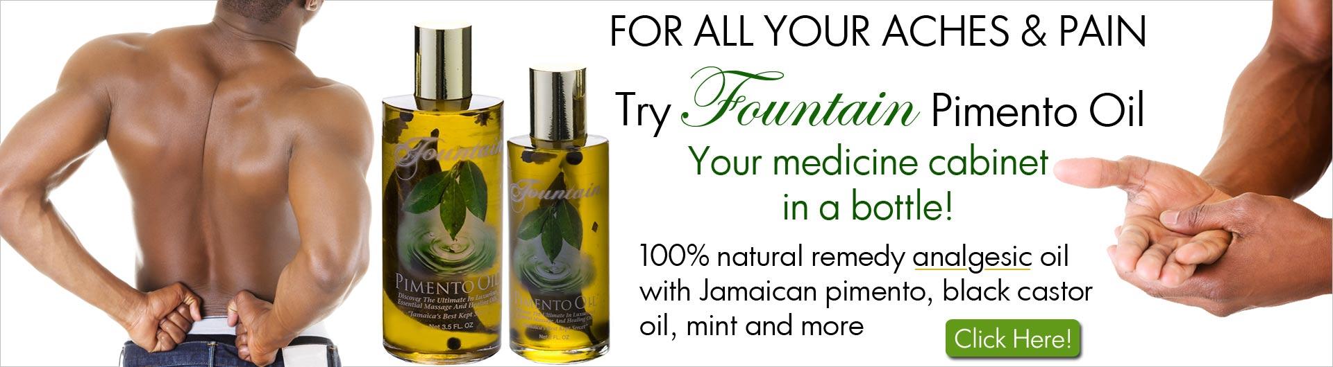 Fountain Pimento Oil