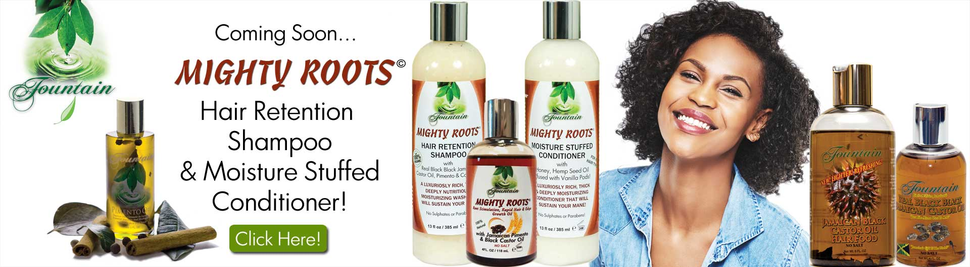 Fountain Oil products at JamaicanOIls