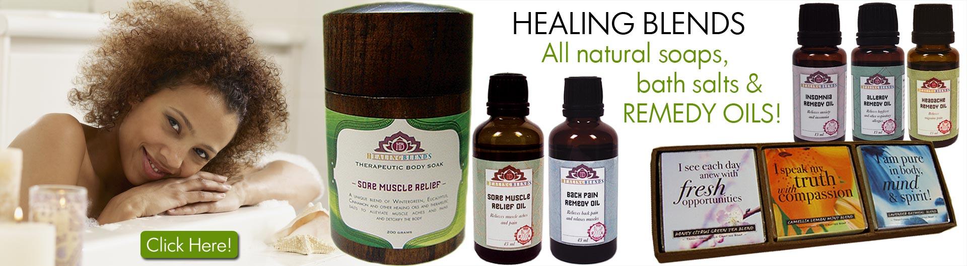 Healing Blends 100% NATURAL