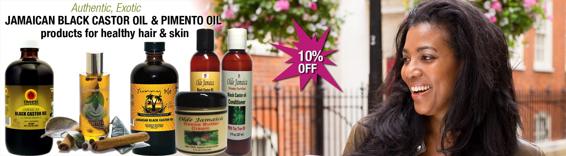 Authentic and Natural JBCO products!