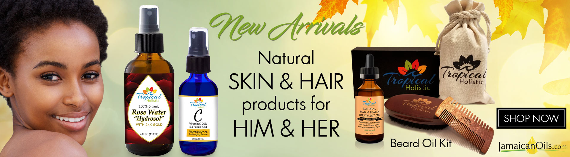 New SKIN & HAIR products from Him and Her