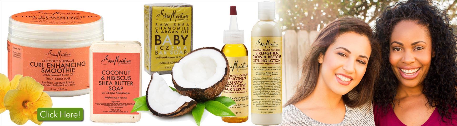 SheaMoisture beauty products