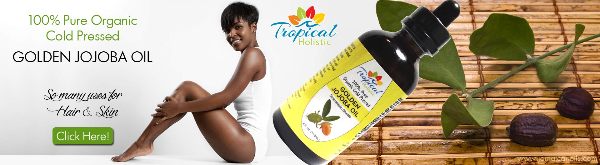 Golden Jojoba Oil by Tropical Holistic