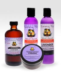 Sunny Isle Lavender Jamaican Black Castor Oil Hair Care Kit