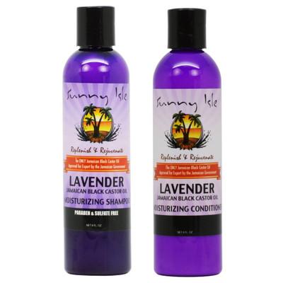 Lavender Jamaican Black Castor Oil Shampoo and Conditioner Combo
