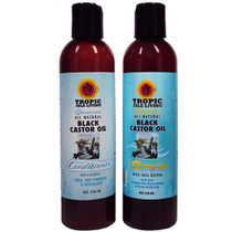 Tropic Isle Living Jamaican Black Castor Oil Shampoo and Conditioner Combo I
