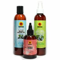 Tropic Isle Living Jamaican Black Castor Oil Serum and Conditioner Combo 1