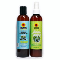 Tropic Isle Living Jamaican Black Castor Oil Shampoo and Leave In Conditioner Combo
