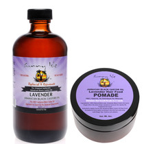 Sunny Isle Lavender Jamaican Black Castor Oil and Hair Pomade Combo