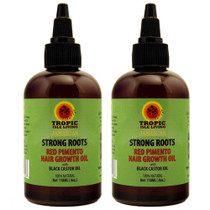 Strong Roots Red Pimento Hair Growth Oil 4oz 2-Pack